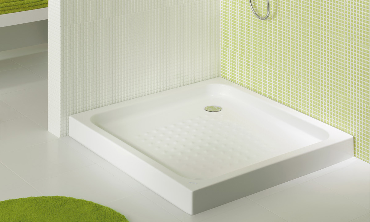 Elba gala for Platos de ducha ceramicos rectangulares