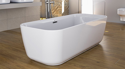 Gala presents its new and sophisticated freestanding bath, Mid