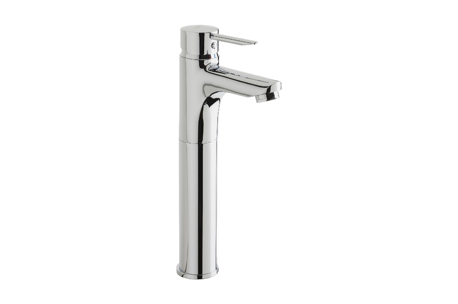 Single lever Wash-basin mixer with high spout