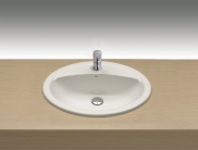 Countertop wash-basin 56,5x47 cm.