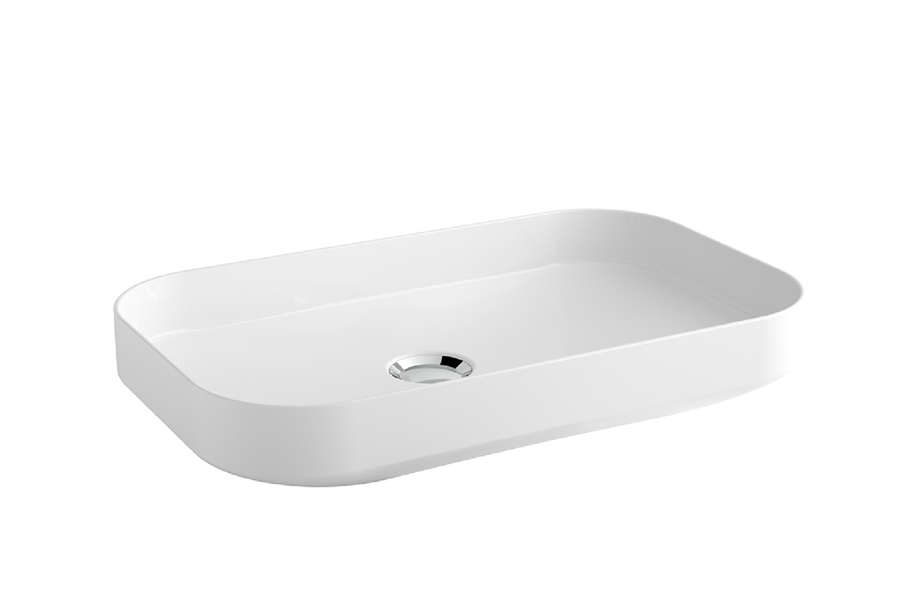 Over-counter Wash-basin 60x37 cm.