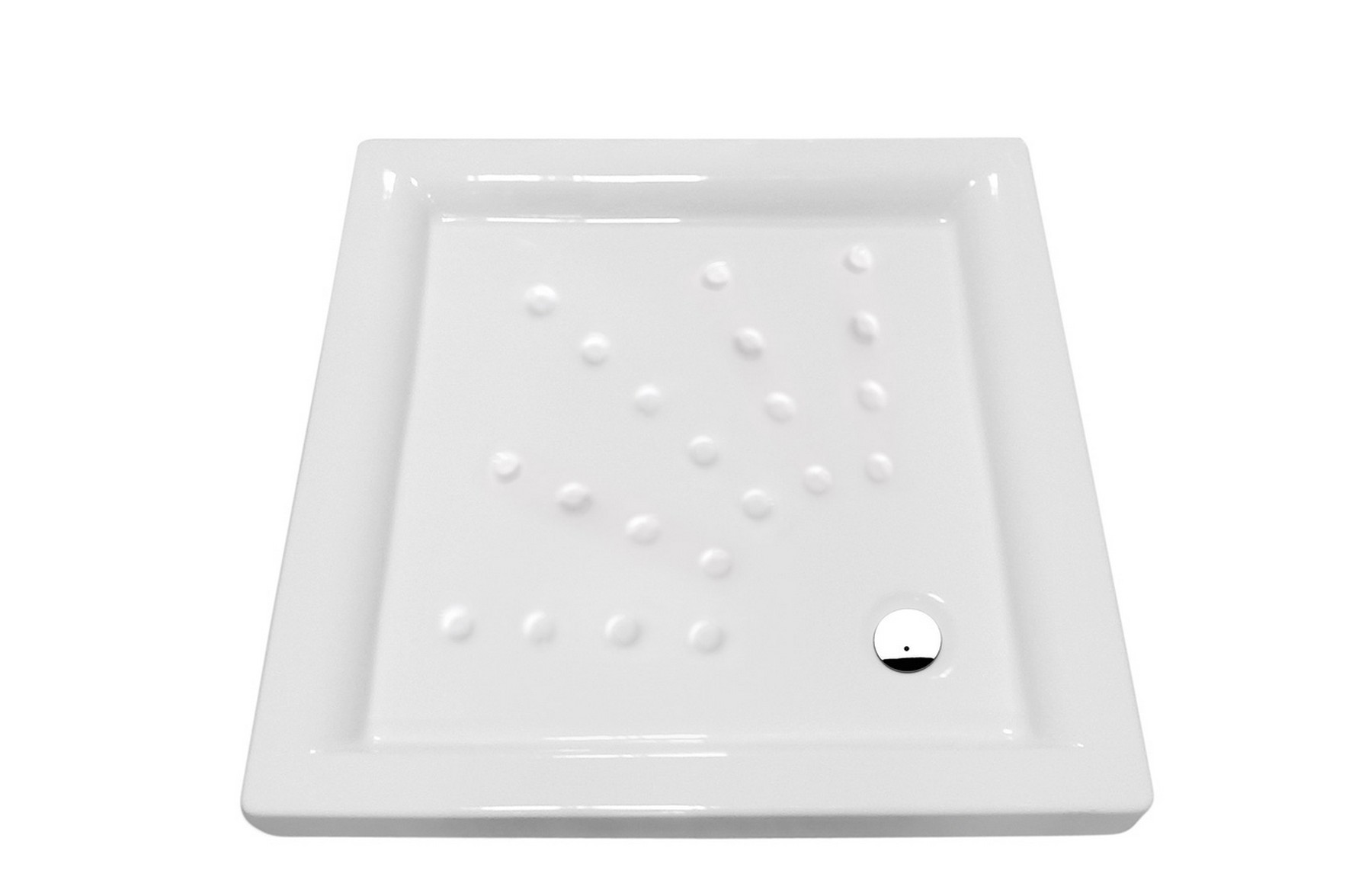 Square shower tray 80x80